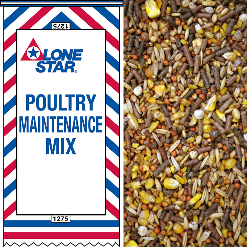 1275 14 Poultry Maintenance Mix Lonestar Feed