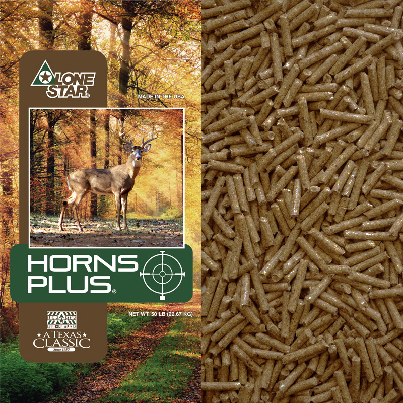 1503 Horns Plus Max Deer Pellets Lonestar Feed