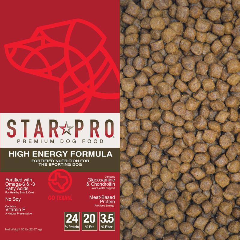 Star Pro High Energy Dog Food